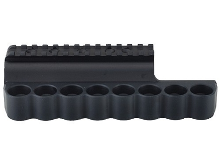 Mesa Tactical Sureshell Shotshell Ammunition Carrier with Picatinny Optic Rail 12 Gauge Benelli M4, M1014 8-Round Aluminum Matte