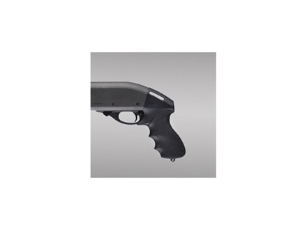 Hogue OverMolded Tamer Rear Pistol Grip Remington 870 12 Gauge Rubber Black