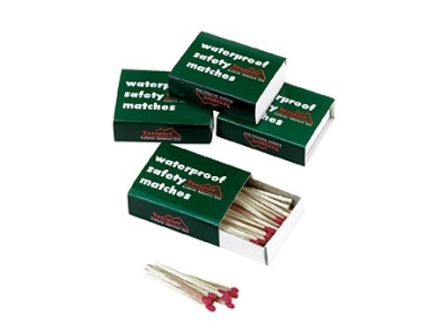 Texsport Waterproof Matches Pack of 4 Boxes