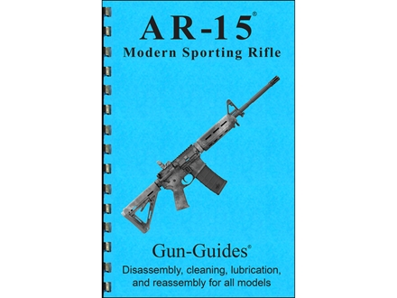 "Gun Guides Takedown Guide ""Colt AR-15 and Variants"" Book"