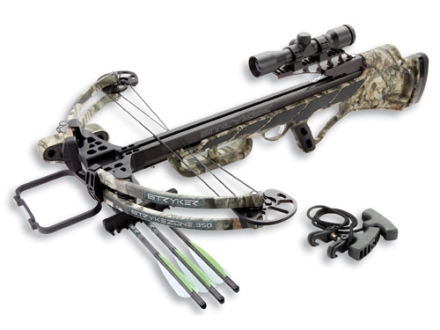 Stryker Strykezone 350 Crossbow Package with 3x 32mm Multi-Reticle Crossbow Scope