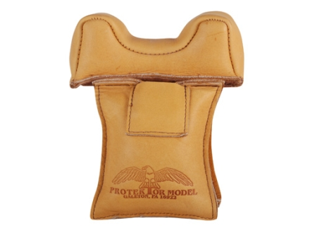 Protektor Owl Ear Front Blind and Window Shooting Rest Bag Leather Tan Filled
