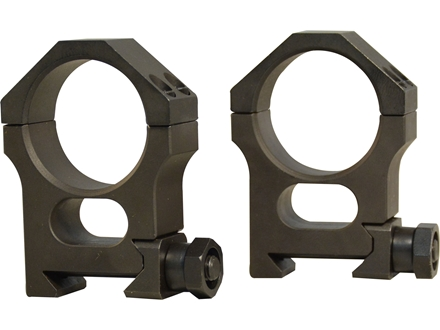 Valdada IOR 30mm Tactical Heavy Duty Picatinny-Style Rings Steel Matte High