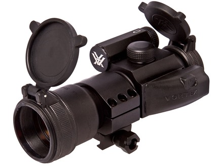 Vortex StrikeFire Red Dot Sight 30mm Tube 1x 4 MOA Red and Green Dot with Low Weaver-Style Ring Matte