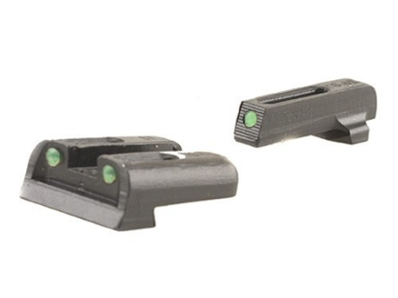 TRUGLO TFO Sight Set Sig Sauer #6 Front #8 Rear Steel Tritium / Fiber Optic Green