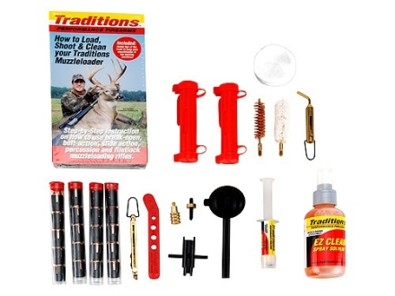Traditions Sportsman&#39;s Package for 50 Caliber Black Powder Pellet Shooters