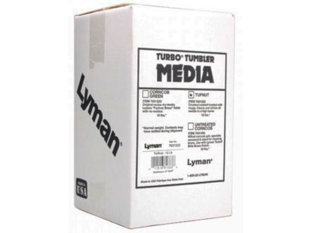 Lyman Turbo Brass Cleaning Media Treated Tufnut (Walnut) 12 lb Box