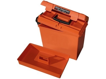 "MTM Sportsman Plus Utility Dry Box 15.5"" x 8.8"" x 13"" Orange"