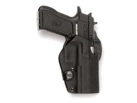Front Line BFL Belt Holster Left Hand Glock 17, 22, 31 Kydex Black