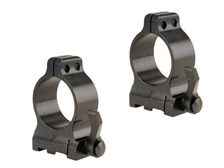 "Talley 1"" Quick Detachable Ring Mounts CZ 550 With Lever Matte Medium"