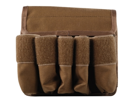 Tuff Products 5-In-Line Magazine Pouch AR-15/Magpul Nylon Coyote Brown