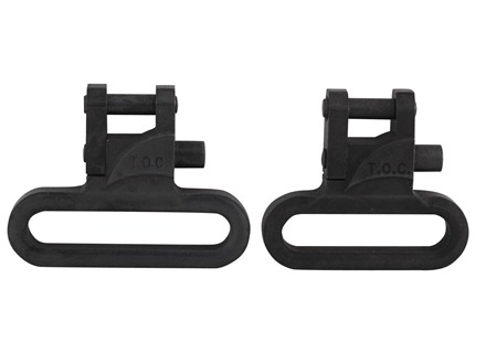 "The Outdoor Connection Talon Sling Swivels 1"" Steel Black (1 Pair)"