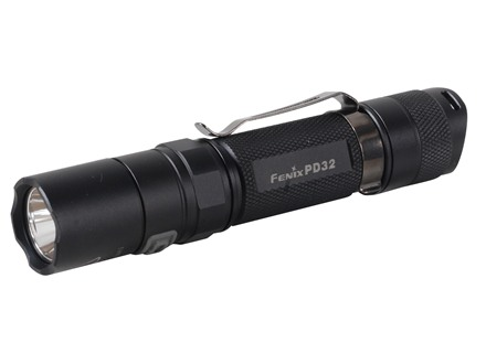 Fenix PD32 Flashlight White LED Aluminum Black