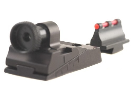 Williams WGRS-336 Guide Receiver Peep Sight Set Marlin Lever Actions with Fire Sight Front Sight Aluminum Black