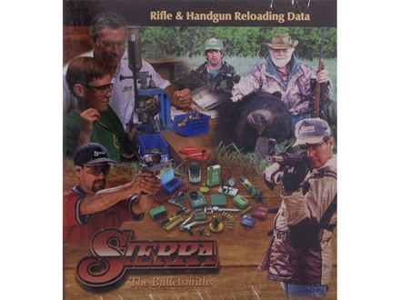 Sierra &quot;5th Edition Rifle and Pistol Manual of Reloading Data&quot; Reloading Manual