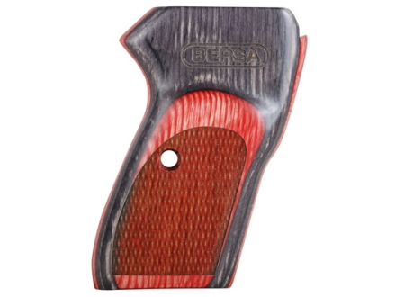 Bersa Grips Bersa Thunder 380, Firestorm 380/22 with Bersa Logo Red Laminate