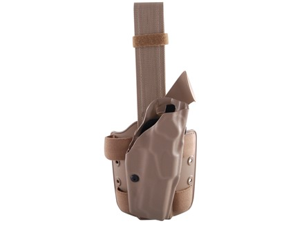 Safariland 6354 ALS Tactical Drop Leg Holster Right Hand Smith &amp; Wesson M&amp;P 45 ACP Polymer Flat Dark Earth