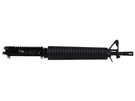 "Del-Ton AR-15 Dissipator A3 Flat-Top Upper Assembly 5.56x45mm NATO 1 in 9"" Twist 16"" Rifle Length Heavy Contour Barrel Chrome Moly Matte with A2 Handguard, Flash Hider"