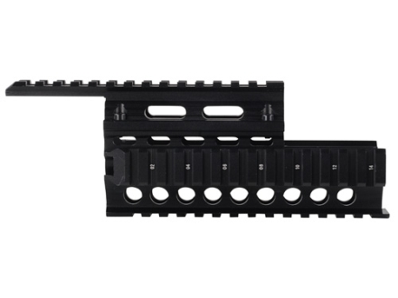 GMG 2-Piece Handguard Quad Rail AK-47, AK-74 Aluminum Black