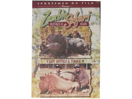 "Sportsmen on Film Video ""Zambia Safari: Buffalo & Roan"" DVD"