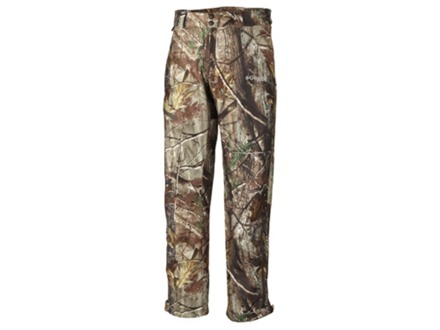 "Columbia Men's Stealth Shot Lite Pants Polyester Realtree AP Camo Large 36-39 Waist 32-1/2"" Inseam"