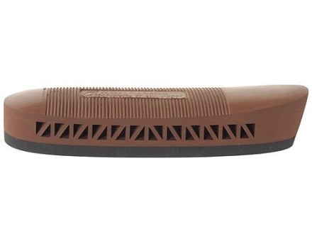 "Pachmayr F250 Light Weight Field Recoil Pad Grind to Fit .85"" Large with Lined Face Brown"