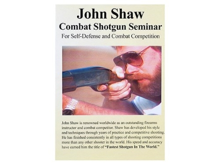 Gun Video &quot;John Shaw Combat Shotgun Seminar&quot; DVD