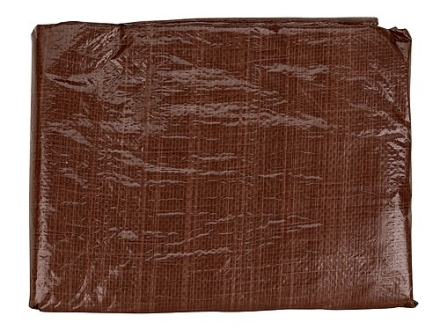 Texsport Tarp 12&#39; x 16&#39; Polyethylene Brown