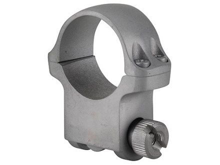 Ruger 1&quot; Ring Mount 5KHM Silver Matte High