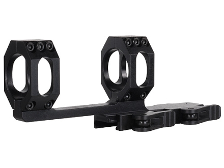 American Defense Recon-X Quick-Release Extra-Extended Scope Mount Picatinny-Style with 34mm Rings AR-15 Flat-Top Matte