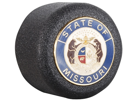 ASP Missouri State Seal Logo Baton Cap State Logo Cap 4140 Steel with Brass Emblem Black