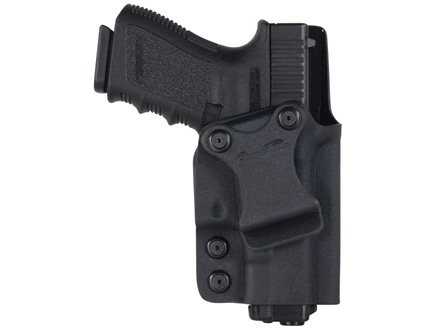 "Comp-Tac Infidel Inside the Waistband Holster with Infidel Belt Clip 1.5"" Right Hand Glock 9mm Luger, 40 S&W Kydex Black"