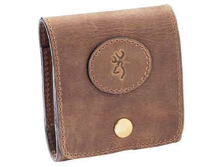 Browning Crazy Horse Leather 10 Cartridge Case