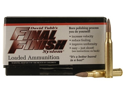 Tubb Final Finish Bore Lapping Ammunition 270 Winchester Box of 20