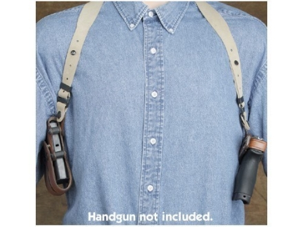 Hunter 5100 Pro-Hide Shoulder Holster and Harness Right Hand  1911 Government Leather Brown