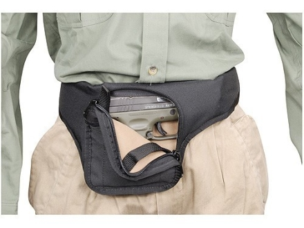 Soft Armor Merlin Fanny Pack Medium to Large Frame Semi Automatics Nylon Black