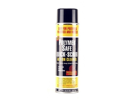 Shooter's Choice Polymer Safe Quick-Scrub Action Cleaner 12 oz Aerosol