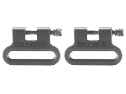 The Outdoor Connection Brute Sling Swivels 1&quot; Polymer Gray (1 Pair)