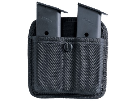Bianchi 7320 Triple Threat 2 Magazine Pouch Beretta 92, Glock 17, 19, 22, 23, Sig Sauer P226 Nylon Black