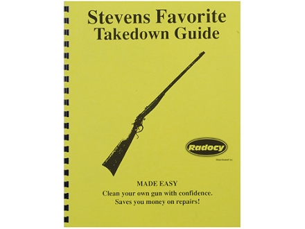 "Radocy Takedown Guide ""Stevens Favorite"""