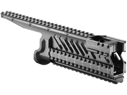 Mako 6-Rail Integrated Rail System Micro Galil Aluminum Black