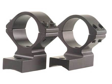Talley Lightweight 2-Piece Scope Mounts with Integral 1&quot; Extended Front Winchester 70 Post-64 with .435 Rear Mount Hole Spacing Matte Medium