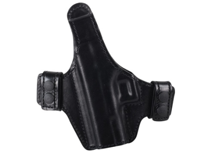 Bianchi Allusion Series 130 Classified Outside the Waistband Holster Left Hand Glock 19, 23, 32 Leather Black