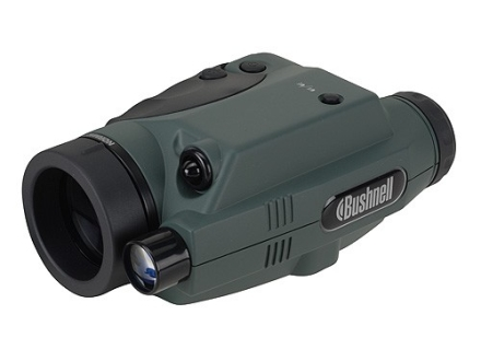 Bushnell Monocular 1st Generation Night Vision 2.5x 42mm Dual Infrared Illumination Green and Black