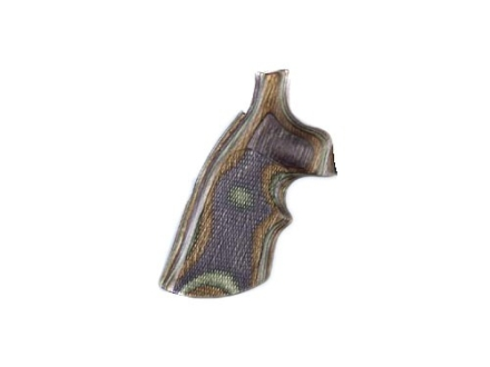 Hogue Fancy Hardwood Grips with Top Finger Groove Ruger Security Six Checkered Lamo Camo
