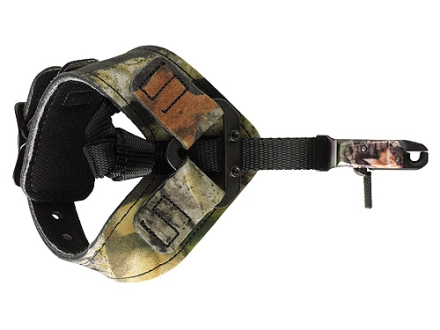Scott Archery Little Bitty Goose NCS Deluxe Bow Release Nylon Connector Buckle Wrist Strap Mossy Oak Break-Up Camo