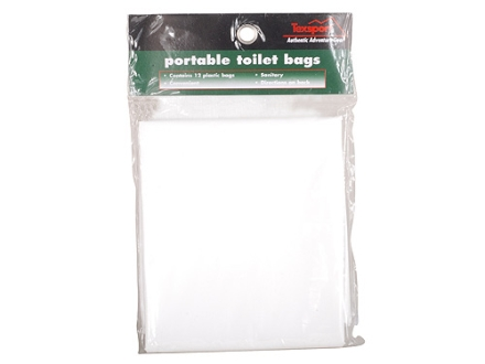 Texsport Portable Toilet Replacement Bags Polymer