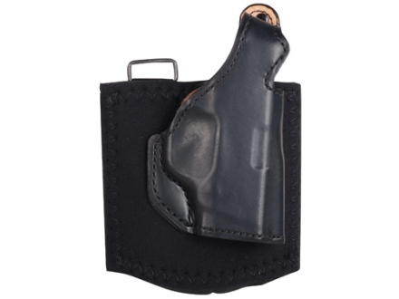 DeSantis Die Hard Ankle Holster Right Hand Smith & Wesson Bodyguard 380 Leather Black