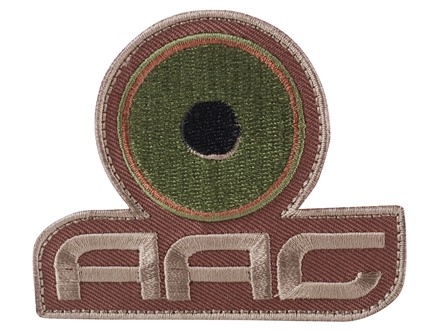 Advanced Armament Co (AAC) Stacked Logo Patch Velcro