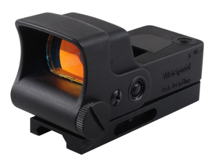 AimShot HG-Pro Reflex Red Dot Sight Dot Reticle with Integral Quick Release Weaver-Style Mount Matte